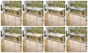 STÓŁ STOLIK KUCHENNY-80x60x18-BIAŁY-NOGI BUKOWE Głębokość mebla 60 cm