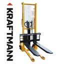 Wózek paletowy paleciak widlak MASZTOWY 160cm 1t Waga (z opakowaniem) 250 kg