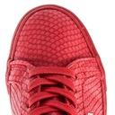 Buty BIG STAR damskie trampki czerwone BB274724 Kolor czerwony