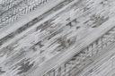 DYWAN NOBIS 120x170 cm BOHO ETHNIC szary #DEV995 Wzór geometryczny