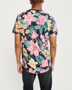 ABERCROMBIE Hollister T-Shirt Koszulka Kwiaty L Rozmiar L
