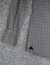 MORRIS szwedzka koszula - 42 M/L kratka SLIM Kolor biały różowy niebieski zielony wielokolorowy
