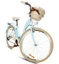 """Damski rower miejski 28 ALU lekki SHIMANO 7 kosz Rozmiar koła ("""") 28"""
