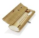 EKOLOGICZNY PIÓRNIK z IMIENIEM i AKCESORIAMI WOOD Typ drewniany