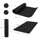 Mata do jogi ćwiczeń fitness gruba 1,5 cm czarna Kod producenta 100541-00019-0133