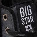 Wysokie Trampki Big Star EE27080 OCIEPLANE CZARNE Marka Big Star