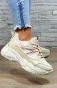 Buty Damskie Adidasy Sneakersy Platforma Tori r.39 Kolor żółty, złoty brązowy, beżowy