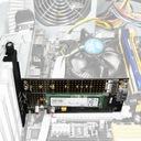 Adapter M.2 NVMe PCI Express 2x Dyski SSD M.2 SATA Producent Axagon