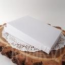 Pudełko na kartkę A6 C6 prostokąt białe 300g