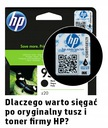 HP Tusz 300 Black oryginalny CC640EE Kolor czarny (black)
