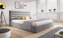 кровать обиты VERO 160х200 контейнер + каркас