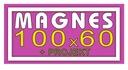 Reklama magnetyczna na samochód MAGNES 100x60