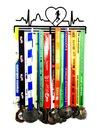 Вешалка на медали ритм сердца Бег 40 kob сердце доставка товаров из Польши и Allegro на русском