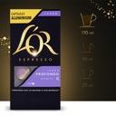 Kapsułki L'OR-kompatybilne z Nespresso(r)* 30szt. Rodzaj kawy czarna zwykła