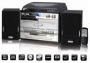 GRAMOFON Z KOLUMNAMI ZGRAJ WINYLE DO MP3 RADIO CD Typ wkładki piezoelektryczna