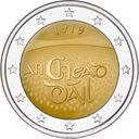 2 евро Ирландия Dail Eireann 2019 доставка товаров из Польши и Allegro на русском