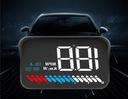 WYŚWIETLACZ PROJEKTOR LED LCD HUD OBD2 GPS USB M7 Waga (z opakowaniem) 0.3 kg