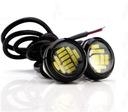Drl СВЕТА Свет Глазки светодиоды 12 Светодиодные лампы КРУГЛЫЕ