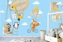 наклейки для детей на стену воздушные шары с шарами ОК