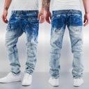 Cipo Baxx Jeansy Spodnie Przecierane Light Lato Płeć Produkt męski