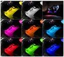 OŚWIETLENIE WNĘTRZA AUTA KABINY RGB LED + PILOT ! Producent części inny