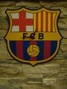 Zegar FC Barcelona, FCB duży - 40cm