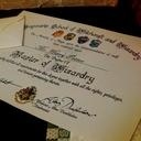 Именной Сертификат Хогвартс! Гарри Поттер доставка товаров из Польши и Allegro на русском