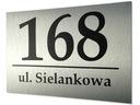 Табличка адресная табличка с номером дома, на дом доставка товаров из Польши и Allegro на русском