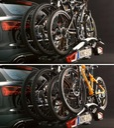 Bagażnik rowerowy na hak THULE 926 + 9261 4 ROWERY Typ uchwytu platforma