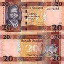 SUDAN - 20 Pounds 2015 - UNC z paczki