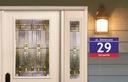 Tablica tabliczka adresowa z numerem domu 30X20 cm Szerokość 30 cm