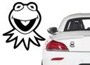 Naklejka na samochód żaba Kermit Muppets