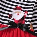 Sukienka świąteczna MIKOŁAJKA z opaska 92 PREZENT Rozmiar 92