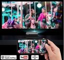 RZUTNIK PROJEKTOR OVERMAX MULTIPIC 3.5 LED HD WiFi Żywotność lampy w trybie ekonomicznym 50000 h