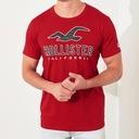 HOLLISTER by Abercrombie T-Shirt Koszulka USA M Dekolt okrągły