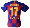 GRIEZMANN komplet sportowy strój piłkarski r. 140 Drużyna nie dotyczy