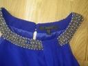 Coast elegancka szyfonowa kobaltowa tunika r 44 Płeć Produkt damski