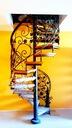 Лестница Вьющиеся ,перила ствол с побегами виноградной лозы