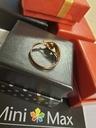 Pierścionek damski złoty pr. 585 (HB12376) Materiał Złoto
