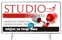 Baner reklamowy 2x1 - Manicure Projekt Gratis Waga (z opakowaniem) 1 kg