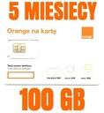 (STARTER INTERNET ORANGE FREE 100 ГБ)
