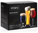 Zestaw komplet konesera piwa KROSNO Brewery 6 szt.