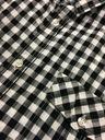 Bawełniana koszula męska w kratkę BIG STAR 3XL Kolor biały czarny