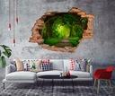 наклейки instagram Дыра 3D настенные фрески дыры вид
