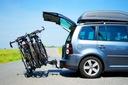 STORM 4 - Bagażnik uchwyt rowerowy na hak 4 rowery Waga produktu 18 kg
