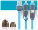 KABEL USB 2W1 ŁADOWARKA MICRO USB do IPhone Kod producenta M555040