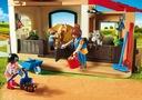 Playmobil 6927 Stajnia kucyków Materiał Plastik