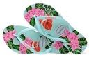 Havaianas Slim Floral 39/40 kolorowe japonki %%%%% Rozmiar 40