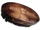 Szczotka KARTACZ DO Brody Naturalne WŁOSIE DZIKA Materiał włosia tworzywo naturalne