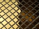 Мозаика стеклянная золотая глянцевая GOLD SHINE